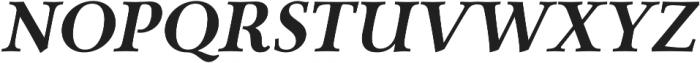 Carrig Pro Bold Italic otf (700) Font UPPERCASE