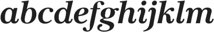 Carrig Pro Bold Italic otf (700) Font LOWERCASE