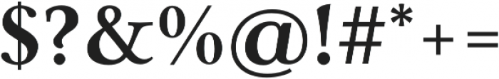 Carrig Pro Bold otf (700) Font OTHER CHARS