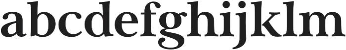 Carrig Pro Bold otf (700) Font LOWERCASE