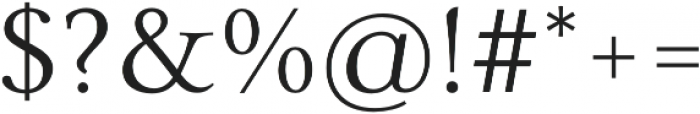 Carrig Pro Light otf (300) Font OTHER CHARS