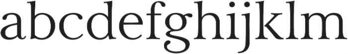 Carrig Pro Light otf (300) Font LOWERCASE