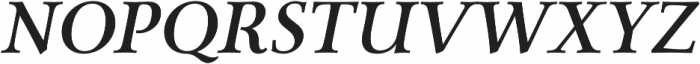 Carrig Pro Medium Italic otf (500) Font UPPERCASE