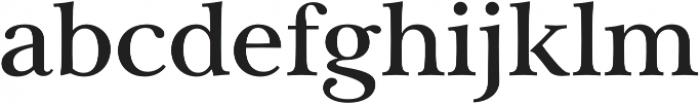 Carrig Pro Medium otf (500) Font LOWERCASE