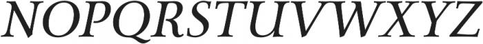 Carrig Pro otf (400) Font UPPERCASE