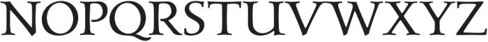 Carrig Text otf (400) Font UPPERCASE