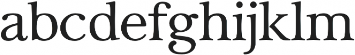 Carrig Text otf (400) Font LOWERCASE
