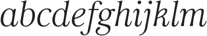 Carrig otf (700) Font LOWERCASE