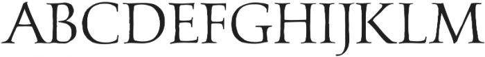 Carrigeen otf (400) Font LOWERCASE