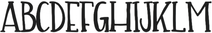 Carry On otf (400) Font LOWERCASE