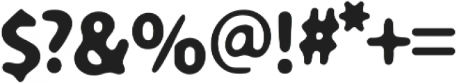 Carson Blur otf (700) Font OTHER CHARS