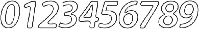 Carson Outline otf (400) Font OTHER CHARS
