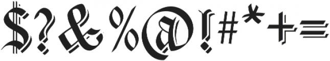 Carta Magna Line Line otf (400) Font OTHER CHARS