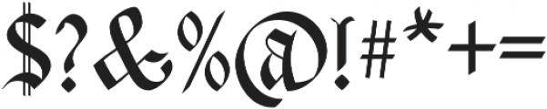 Carta Magna Regular otf (400) Font OTHER CHARS