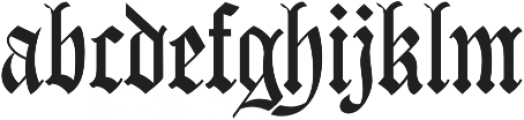 Carta Magna Regular otf (400) Font LOWERCASE