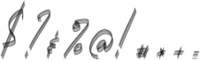 Carthart SVG Regular otf (400) Font OTHER CHARS