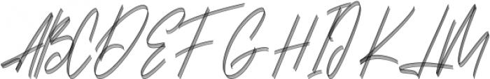 Carthart SVG Regular otf (400) Font UPPERCASE