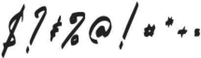 Carthart otf (400) Font OTHER CHARS