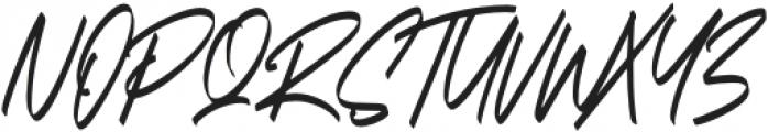 Carthart otf (400) Font UPPERCASE