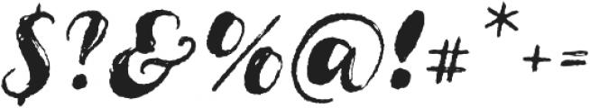 Cartina SlantedRougen otf (400) Font OTHER CHARS