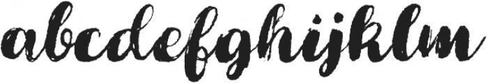Cartina SlantedRougen otf (400) Font LOWERCASE
