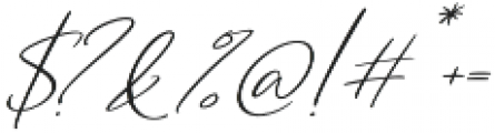 Cartines Signatures Italic2 otf (400) Font OTHER CHARS