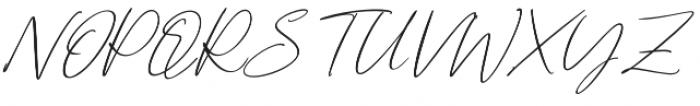 Cartines Signatures Italic2 otf (400) Font UPPERCASE