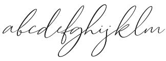 Cartines Signatures Italic2 otf (400) Font LOWERCASE