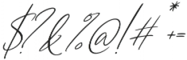 Cartines Signatures otf (400) Font OTHER CHARS