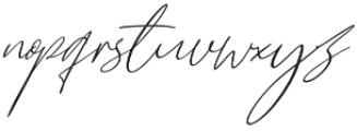 Cartines Signatures otf (400) Font LOWERCASE