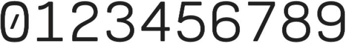Cartograph Mono CF otf (400) Font OTHER CHARS