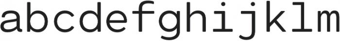 Cartograph Mono CF otf (400) Font LOWERCASE