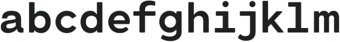 Cartograph Sans CF Bold otf (700) Font LOWERCASE