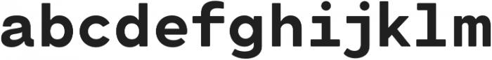 Cartograph Sans CF Extra Bold otf (700) Font LOWERCASE