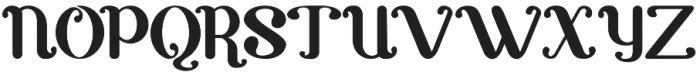 Carvino otf (400) Font UPPERCASE