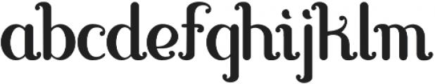 Carvino otf (400) Font LOWERCASE