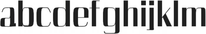 Cason ExtraBold otf (700) Font LOWERCASE