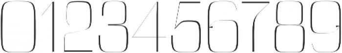 Cason Thin otf (100) Font OTHER CHARS