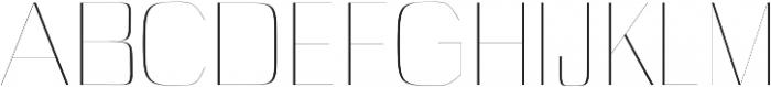 Cason Thin otf (100) Font UPPERCASE