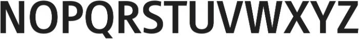 Cast otf (700) Font UPPERCASE