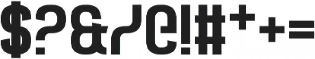 Castforce otf (400) Font OTHER CHARS