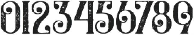 Castile Grunge otf (400) Font OTHER CHARS