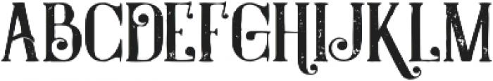 Castile Grunge otf (400) Font LOWERCASE
