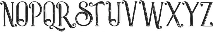 Castile Inline Grunge otf (400) Font UPPERCASE