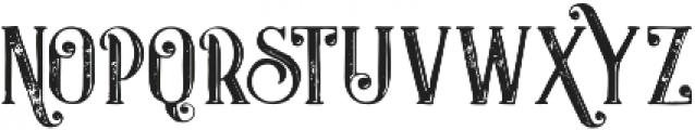 Castile Inline Grunge otf (400) Font LOWERCASE