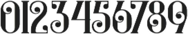 Castile Regular otf (400) Font OTHER CHARS