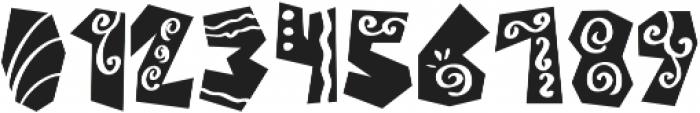 Castillo Bold Italic otf (700) Font OTHER CHARS