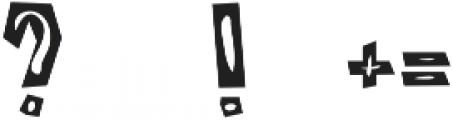 Castillo Bold otf (700) Font OTHER CHARS