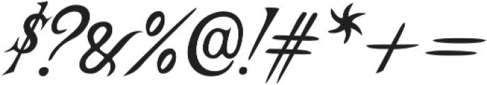 Castine otf (400) Font OTHER CHARS