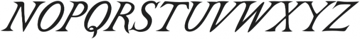 Castine otf (400) Font UPPERCASE